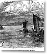Vikings: North America Metal Print