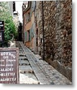 Village Alley Metal Print