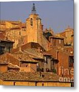 Village De Roussillon. Luberon Metal Print by Bernard Jaubert