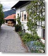 Village In Tyrol Metal Print