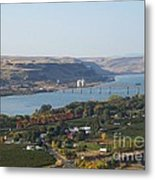 Village Of Maryhill Metal Print