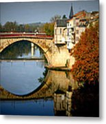 Villeneuve Sur Lot Metal Print by Georgia Fowler