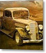 Vintage Automobile No.007 Metal Print