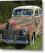 Vintage Automobile No.0488 Metal Print