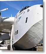 Vintage Boac British Overseas Airways Corporation Speedbird Flying Boat . 7d11255 Metal Print by Wingsdomain Art and Photography