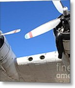 Vintage Boac British Overseas Airways Corporation Speedbird Flying Boat . 7d11260 Metal Print by Wingsdomain Art and Photography