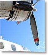 Vintage Boac British Overseas Airways Corporation Speedbird Flying Boat . 7d11270 Metal Print