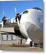 Vintage Boac British Overseas Airways Corporation Speedbird Flying Boat . 7d11276 Metal Print by Wingsdomain Art and Photography
