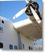 Vintage Boac British Overseas Airways Corporation Speedbird Flying Boat . 7d11279 Metal Print
