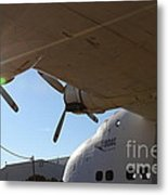 Vintage Boac British Overseas Airways Corporation Speedbird Flying Boat . 7d11286 Metal Print by Wingsdomain Art and Photography