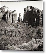 Vintage Cathedral Rock Metal Print by John Rizzuto