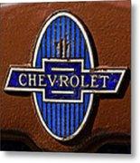 Vintage Chevrolet Emblem Metal Print