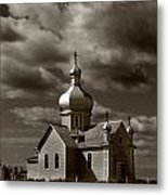 Vintage Church Metal Print