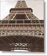 Vintage Eiffel Tower Metal Print