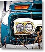Vintage Gmc Truck Metal Print