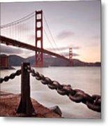 Vintage Golden Gate Metal Print