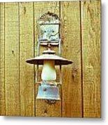 Vintage Lamp Metal Print