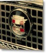 Vintage Nash Auto Grill Metal Print