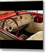 Vintage Packard Interior Metal Print
