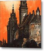 Vintage Poland Travel Poster Metal Print