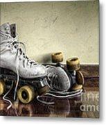 Vintage Roller Skates  Metal Print