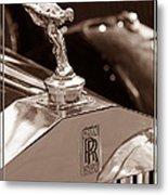 Vintage Rolls Royce 1 Metal Print