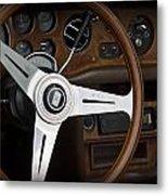 Vintage Rolls Royce Dash Metal Print