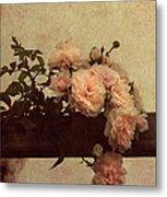 Vintage Roses Metal Print