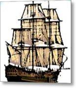 Vintage Sails Metal Print