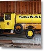 Vintage Signal Gasoline Truck . 7d12935 Metal Print