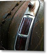 Vintage Tail Light Metal Print