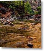 Virgin River Zion Metal Print
