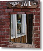 Virginia City Nevada Jail Metal Print