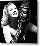 Virginia Mayo, Ca. Early 1940s Metal Print by Everett