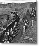 Virginia: Railroad, C1861 Metal Print