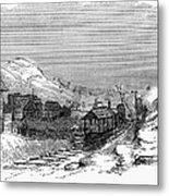 Virginia: Salt Mine, 1857 Metal Print