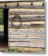 Virginia Structure Metal Print by Denice Breaux