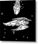 Virgo And Coma Constellations, Artwork Metal Print by