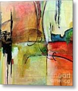 Vision Constructed Metal Print