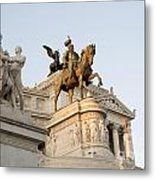 Vittoriano. Monument To Victor Emmanuel II. Rome Metal Print