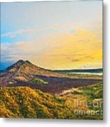 Volcano Batur Metal Print