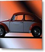 Volkswagon Bug Metal Print