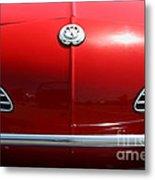 Volkswagon Karmann Ghia . 7d15469 Metal Print