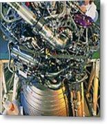 Vulcain Engine Designed For Ariane 5 Launcher Metal Print