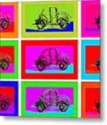 Vw Beatle 1b Metal Print