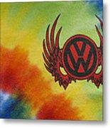 Vw Club Logo Metal Print
