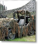 Vw Iltis Of The Special Forces Group Metal Print