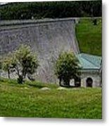Wachusett Dam Panoramic Metal Print