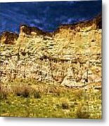 Wahweap Cliff Metal Print