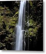 Waikani Waterfall Metal Print